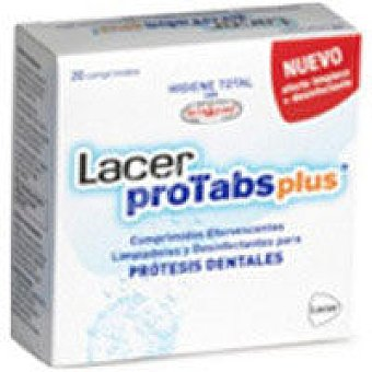 Tabletas limp. lacerprotabsplus 20U