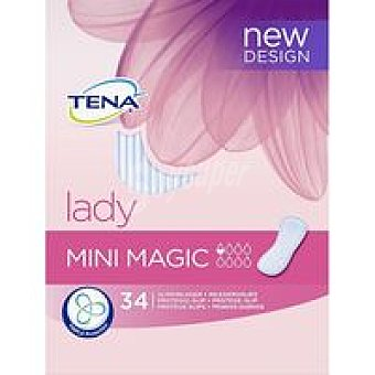 TENA Magic Protector de incontinencia Paquete 34 unid