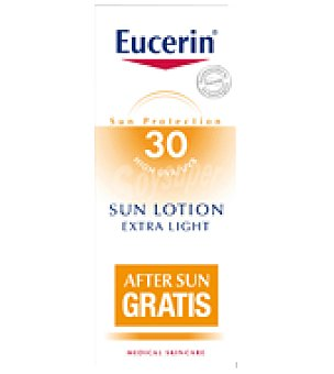 Eucerin Pack Loción Solar Extra Light SPF30 + REGALO After sun Eucerin 150ml 150 ml
