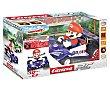 Radiocontrol coche Mario Kart 8 a escala 1:18, 2.4Ghz, 9km/h, carrera.  Carrera