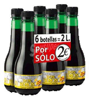 Don Simón Tinto de Verano limón sin alcohol Pack de 6x 33 cl