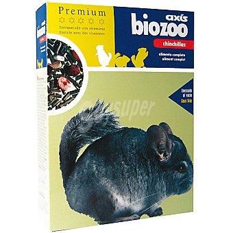 BIOZOO AXIS PREMIUM Alimento completo para chinchillas Paquete 400 g