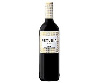BETURIA Vino tinto con denominación de origen calificada Rioja Botella de 75 cl