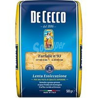 De Cecco Pasta Farfalle Paquete de 500 g