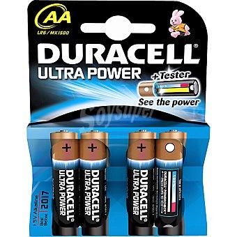 DURACELL ULTRA Pila modelo m3 alcalina AA (lr6 - mn1500) 1,5 voltios blister 4 unidades
