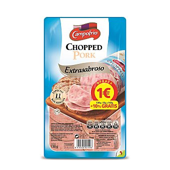 Campofrío Chopped pork 130 g