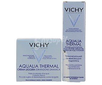 Vichy Crema antiarrugas ligera 50 ml + contorno de ojos 15 ml 50 + 15 ml