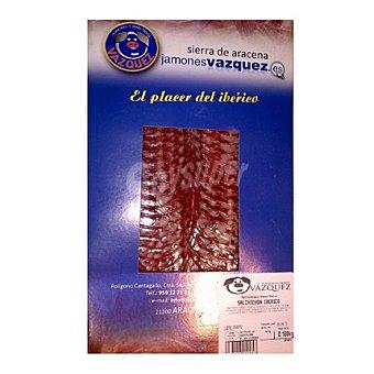 Vázquez Salchichón ibérico en lonchas 100 g