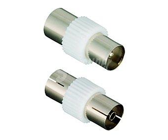 QILIVE COAXIAL Conectores qilive coaxiales macho y coaxiales hembra 2 unidades 2 unidades