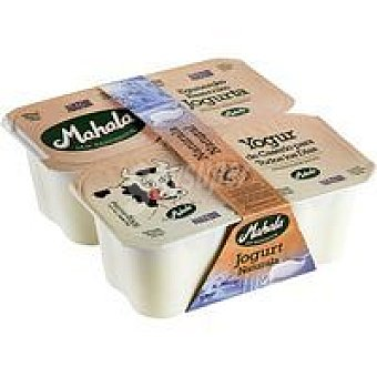 Mahala Yogur natural Pack 4x125 g