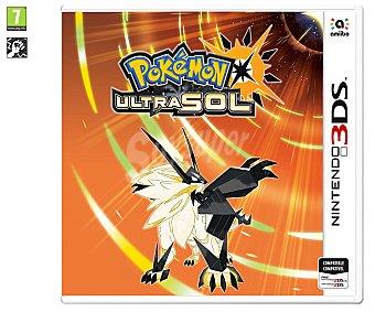 Nintendo Videojuego Pokemon Ultra Sol para Nintendo 3DS. Género: Rol. pegi: +7 Pokemon Ultra sol 3Ds