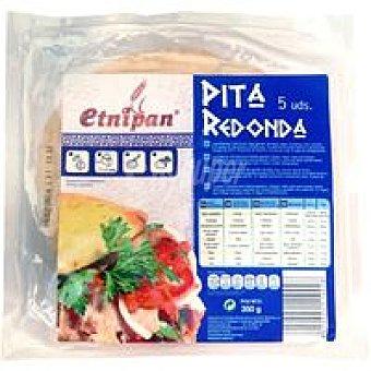 ETNIPAN Pan pita natural paquete 5u 350 gr