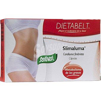 SANTIVERI DIETABELT Slimaluma Facilita el metabolismo de las grasas 40 cápsulas envase 18 g 40 c
