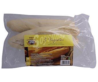 Horno la Gañania Baguettes cocidas 3 uds. 345 gr
