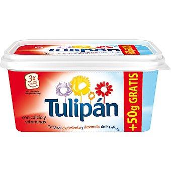 Tulipán Margarina con leche y vitaminas + 50 g gratis Envase 500 g