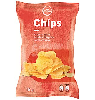 PATATAS Condis chips 170 GRS