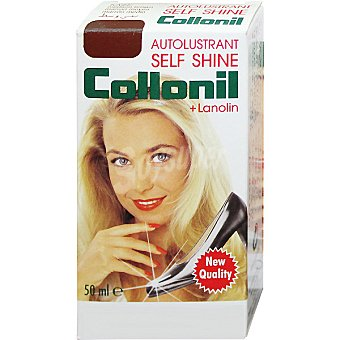 COLLONIL Self Shine Limpia calzado líquido marrón medio Botella 50 ml