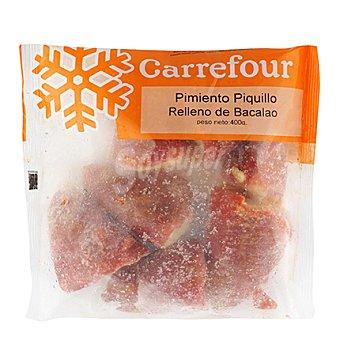 Carrefour Pimiento del piquillo relleno de bacalao Bolsa de 400 gr