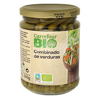 Carrefour Bio Combinado de verduras 249 g