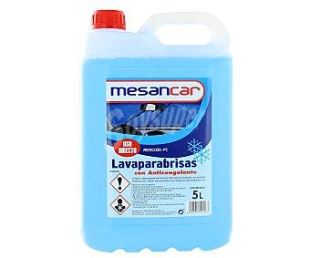 Mensacar de líquido limpiaparabrisas con anticongelante mesancar 5 litros