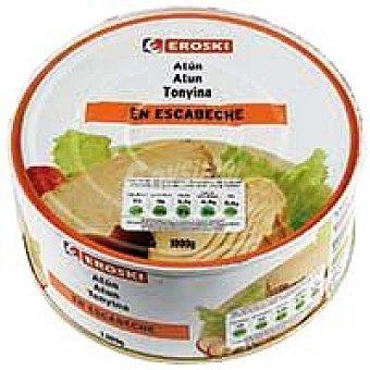 Eroski Atún claro en escabeche Lata 650 g
