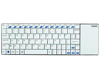 RAPOO E2700 Touchpad Teclado Inalámbrico para Tablet Blanco