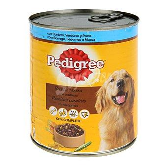 Pedigree Pedigree lata cordero/verdura 800gr 800 gr
