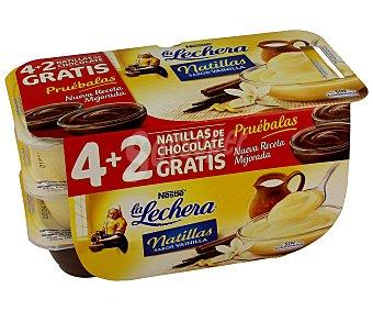 La Lechera Nestlé Natillas vainilla 2x115g