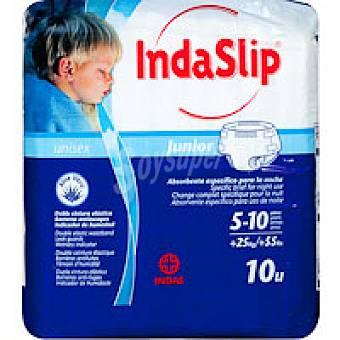 Indaslip Pañal junior 10 unidades