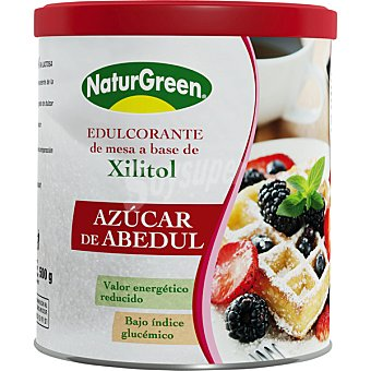 Naturgreen azúcar de abedul bajo índice glucémico envase 500 g