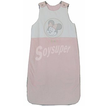 DISNEY P1205 Minnie saco extensible para bebé sin mangas en color rosa