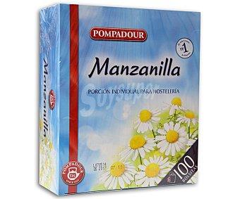 Pampodour Manzanilla Caja 100 sobres