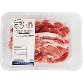 NATUR Duroc Chuleta de aguja de cerdo Eroski Bandeja 450 g