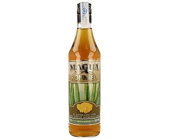 Magua Ron añejo con miel Botella de 70 cl