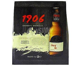 1906 Cerveza 9 botellines de 25cl