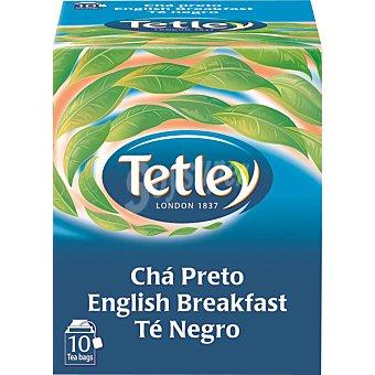 Tetley té English Breakfast 10 bolsitas Estuche 15 g