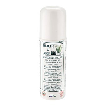 Health & Aloe Bio Desodorante Roll-on con Aloe Vera 75 ml