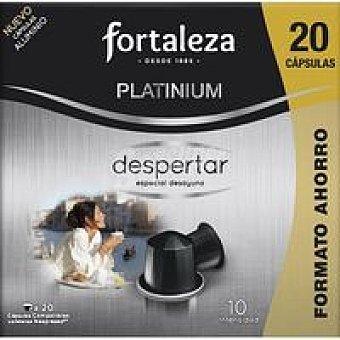 Fortaleza Café despertar Caja 20 monodosis