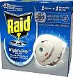 Insecticida raid night&day difusor y recambio + 1 difusor de  Raid