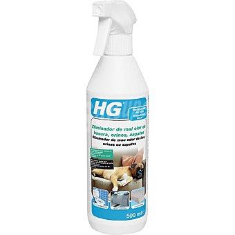 HG Eliminador de mal olor de basura orines y zapatos Spray de 500 ml