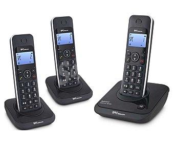 SPC 7245N Teléfono inalámbrico trío Detc Teléf. inalámbrico trío