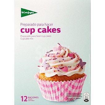 El Corte Inglés Preparado para hacer cup cakes 12 raciones  estuche 385 g