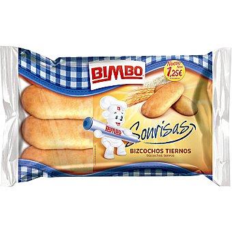 Bimbo Bizcochos de soletilla Sonrisas bolsa 200 g