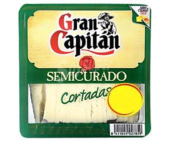 Gran Capitán Queso semicurado de vaca, cabra y oveja cortado 250 gramos