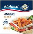 Fingers de pollo sin gluten Caja 300 g Maheso