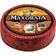 Queso semicurado con pimentón D.O. Majorero peso aproximado pieza 3,7 kg Maxorata