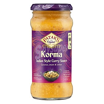 Patak's Salsa de curry Korma suave 350 g