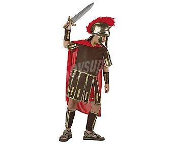 Atosa Disfraz infantil de soldado romano talla 10-12 años, incluye capa, casco, túnica, muñequeras y cubrebotas, atosa