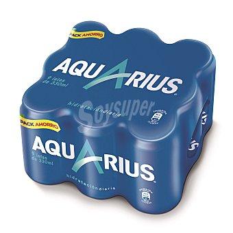 Aquarius Bebida isotónica de limón Pack 9x33 cl
