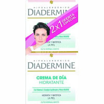 DIADERMIN Crema hidratante piel normal-mixta Pack 2x50 ml